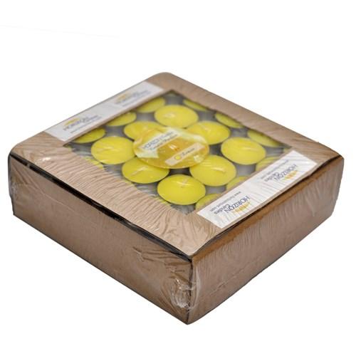 Horizon Mum Tealight Limon Kokulu 100 Lü