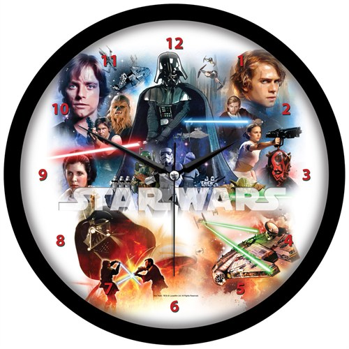 Ykc Star Wars Duvar Saati