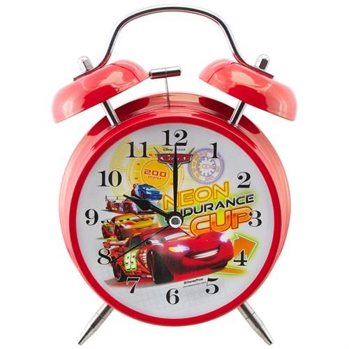 Ykc Disney Cars Alarmlı Ve Işıklı Masa Saati