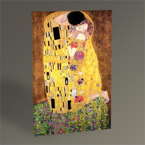 Tablo 360 Gustav Klimt The Kiss Tablo 45X30