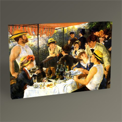 Tablo 360 Pierre Auguste Renoir The Luncheon Of The Boating Party 45X30