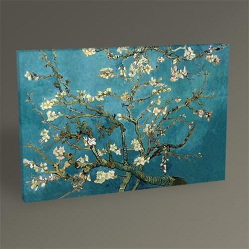 Tablo 360 Vincent Van Gogh-Badem Dalları Tablo 45X30
