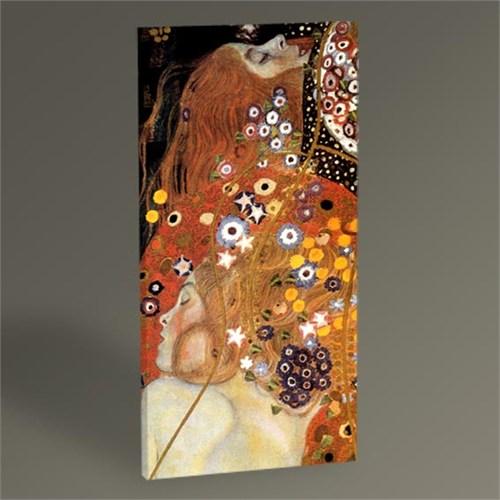 Tablo 360 Gustav Klimt Su Yılanları Tablo 60X30