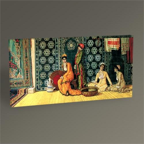 Tablo 360 Osman Hamdi Haremde Kadınlar Tablo 60X30