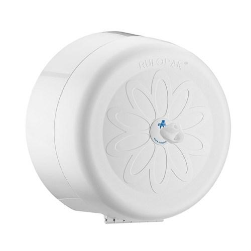 Rulopak Cimri İçten Çekmeli Tuvalet Kağıdı Dispenseri Beyaz