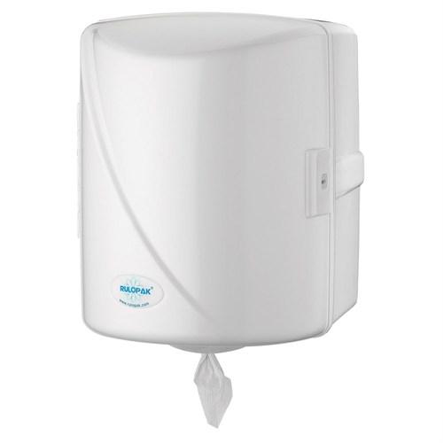 Rulopak İçten Çekmeli Kağıt Havlu Dispenseri Beyaz