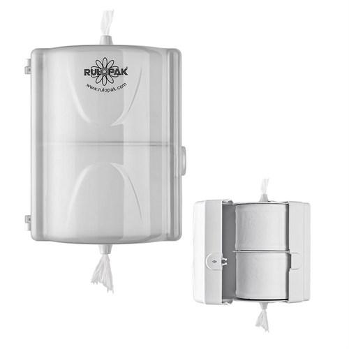 Rulopak Mini Cimri İkili Tuvalet Kağıdı Verici (İkiz Cimri)