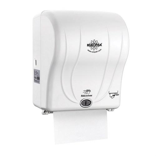 Rulopak Sensörlü Havlu Makinesi 21cm Beyaz