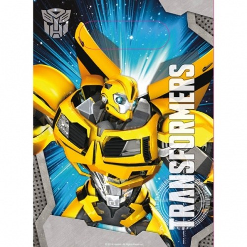 Parti Paketi Transformers 2 Hediye Poşeti 8'Li