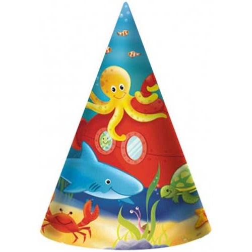 Parti Paketi Parti Şapkası Denizde Parti 8'Li