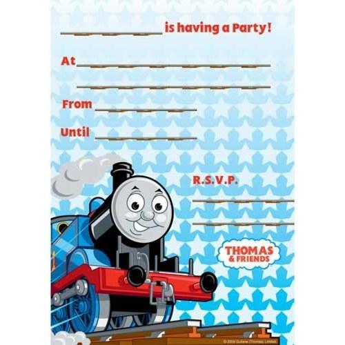 Parti Paketi Thomas Tren Davetiye
