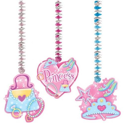 Parti Paketi Süslü Prenses Asmalı Süsler
