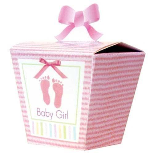 Parti Paketi Bebeğim Pembe Hediye Kutusu 24'Lü