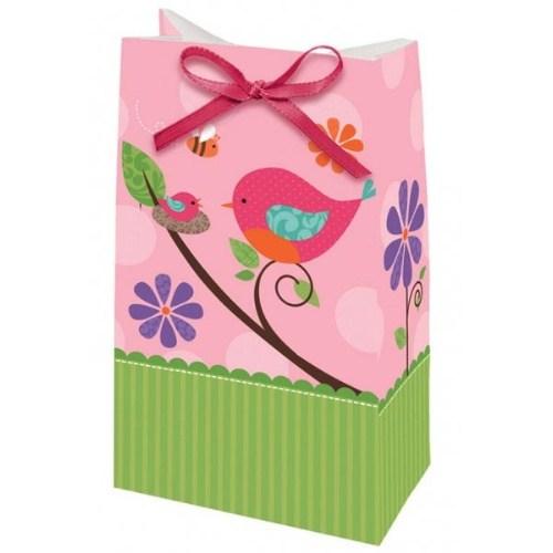 Parti Paketi Baby Girl Mini Hediyelik Poşeti 12'Li