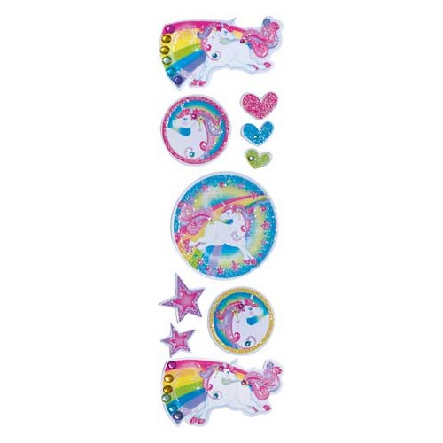 Parti Paketi Unicorn Stickles