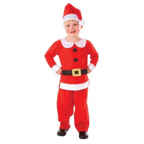 Parti Paketi Noel Çocuk Kostümü Lüks 3-5 Yaş