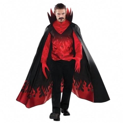 Parti Paketi Şeytan Kostümü Yetişkin M