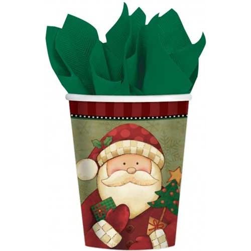 Parti Paketi Noel Baba Bardak