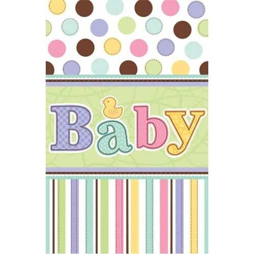 Parti Paketi Hoşgeldin Bebeğim Masa Örtüsü