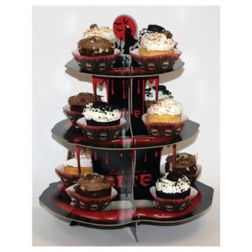 Parti Paketi Vampir Cupcake Standı