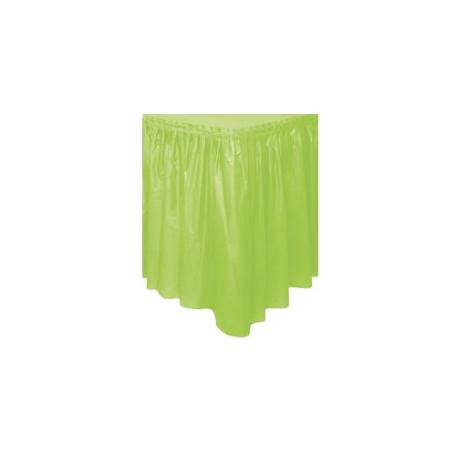 Parti Paketi Kivi Yeşili Plastik Masa Eteği