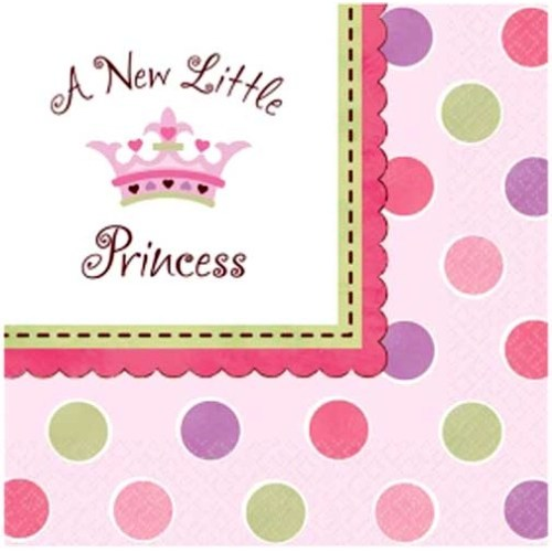 Parti Paketi Minik Prenses Peçete