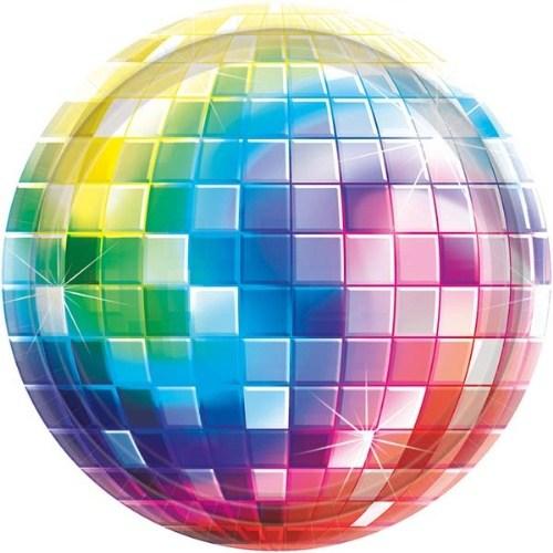 Parti Paketi 70'Ler Disco Partisi Küçük Tabak