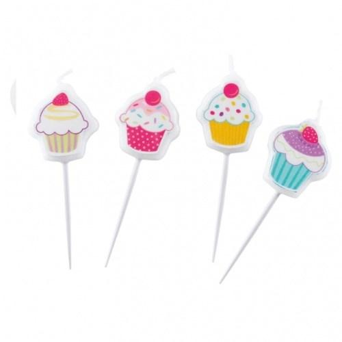 Parti Paketi Sweat Cupcake Partisi Mini Mumlar