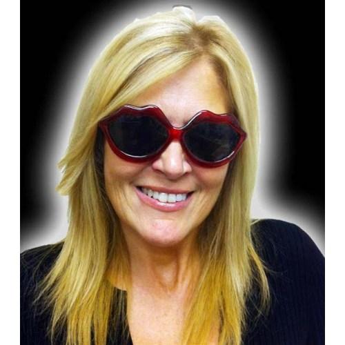 Parti Paketi Kırmızı Dudak Gözlük
