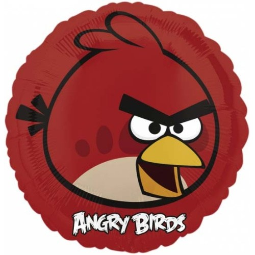 Parti Paketi Angry Birds Red Folyo Balon