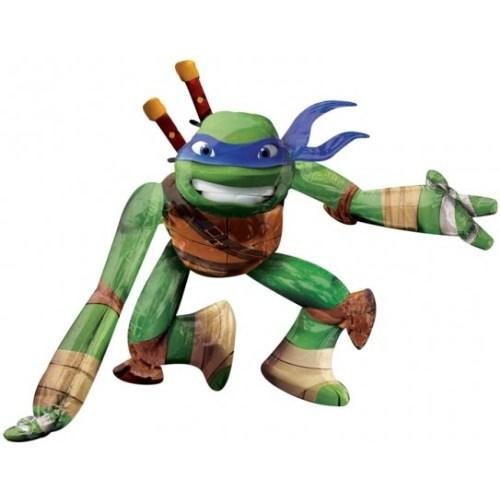 Parti Paketi Ninja Turtle LonardoAirwalker Folyo Balon