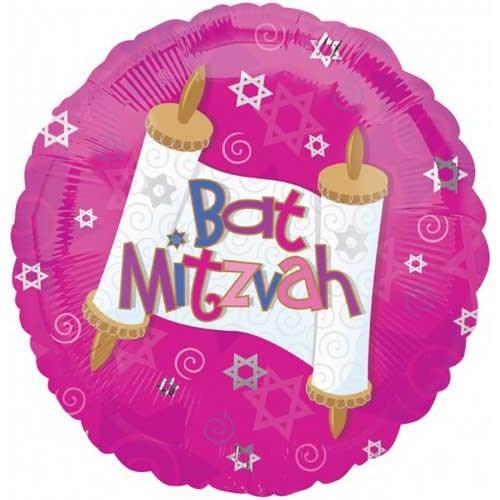 Parti Paketi Bat Mitzvah Folyo Balon