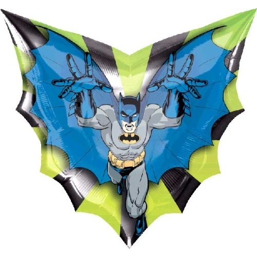Parti Paketi Batman Ambalajsız Supershape Folyo Balon