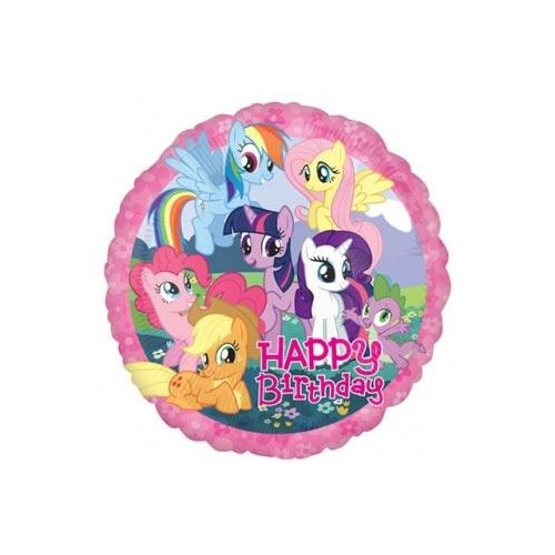 Parti Paketi My Little Pony Birthday Folyo Balon