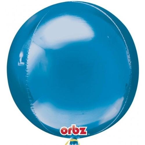 Parti Paketi Mavi Küre Folyo Balon