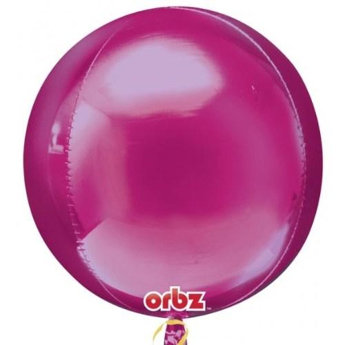 Parti Paketi Pembe Küre Folyo Balon