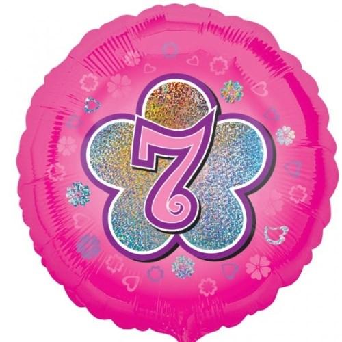 Parti Paketi 7 Yıldızlı PembeFolyo Balon