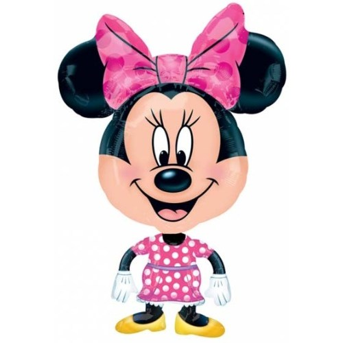 Parti Paketi Minnie Mouse Buddy Airwalker Folyo Balon