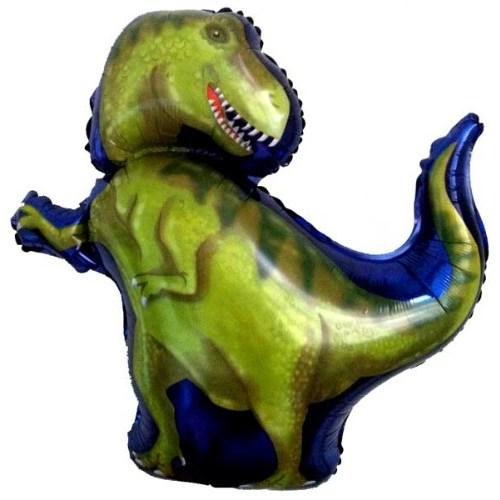 Parti Paketi Dinozor Ambalajsız Supershape Folyo Balon