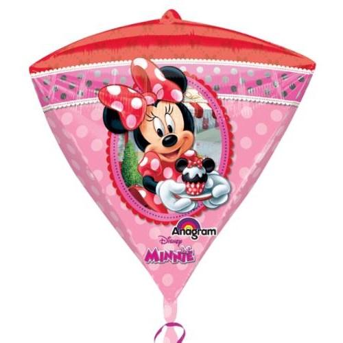 Parti Paketi Minnie Mouse Diamond Folyo Balon