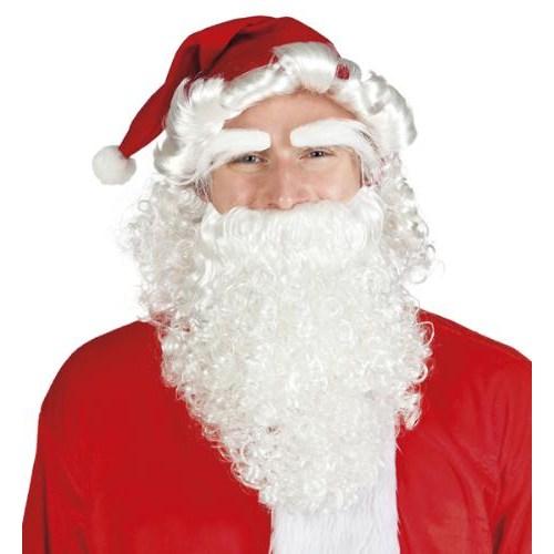 Parti Paketi Noel Baba Şapkası Saç Kaş Sakal