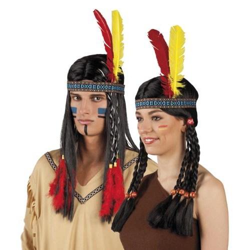 Parti Paketi Kızılderili Saç Bandı