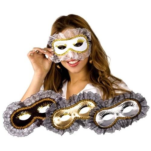 Parti Paketi Venedik Maskesi Dantelli