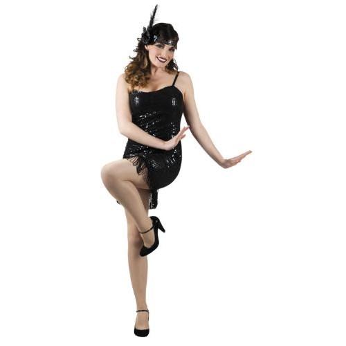 Parti Paketi 1920'Ler Dans Kostümü Ve Saç Bandı M