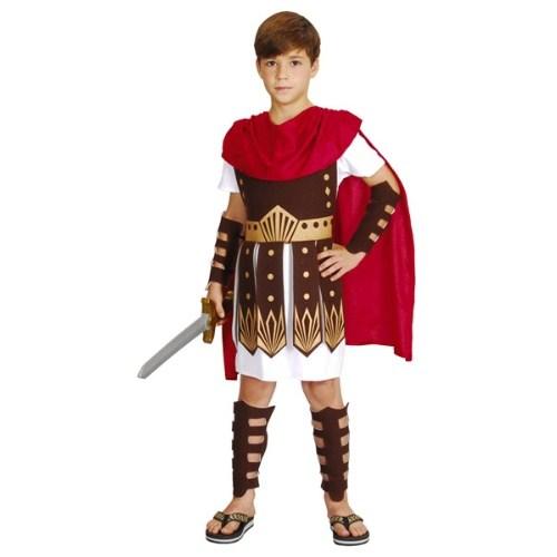 Parti Paketi Romalı Gladyatör Kostümü Lüks 7-9 Y