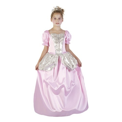 Parti Paketi Gül Prensesi Kostümü 7-9 Y