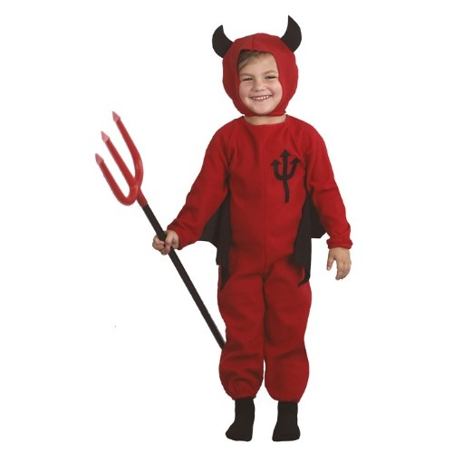 Parti Paketi Şeytan Kostümü Çocuk 3-4 Yaş
