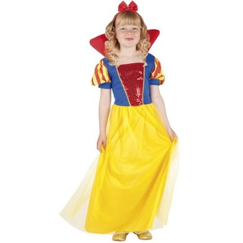 Parti Paketi Pamuk Prenses Kostümü Lüks 7-9 Y
