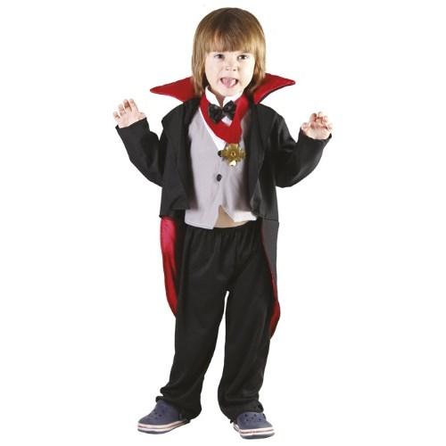 Parti Paketi Vampir / Drakula Kostümü 3-4 Yaş