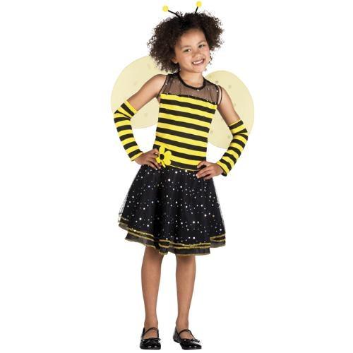 Parti Paketi Kraliçe Arı Kostümü 4-6 Yaş